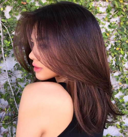 17 popular medium length hairstyles for thick hair best hairstyle introducing the midlength straight haircut is another special beautiful and sexy one it is also uniquely made to suit any skin color irrespective of your winobraniefo Images
