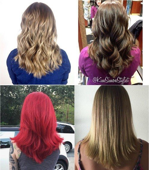 17 popular medium length hairstyles for thick hair best see how beautiful hot and adorable the medium v shape haircut looks on these beauties check photos in the link posted above solutioingenieria Choice Image