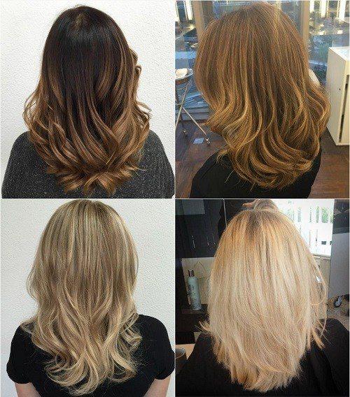 Middle Length Long Layers On Medium Length Hair 60