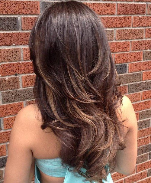 Long Long Layered Haircut V Cut Hair Bpatello